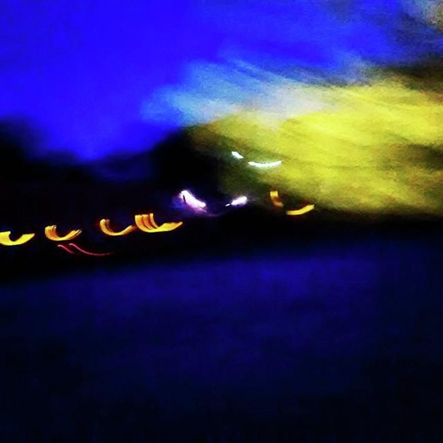 Spiritual Photograph - Taking Flight. Abstract At Night. On by Genevieve Esson