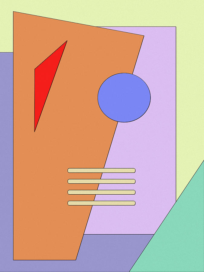 Abstract Digital Art - Taking Shape by Richard Rizzo
