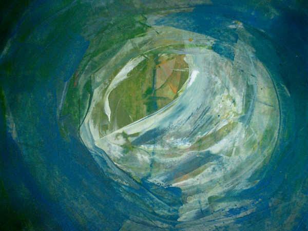Tal Vez Alli Painting by Emilio B Campo- Diaz