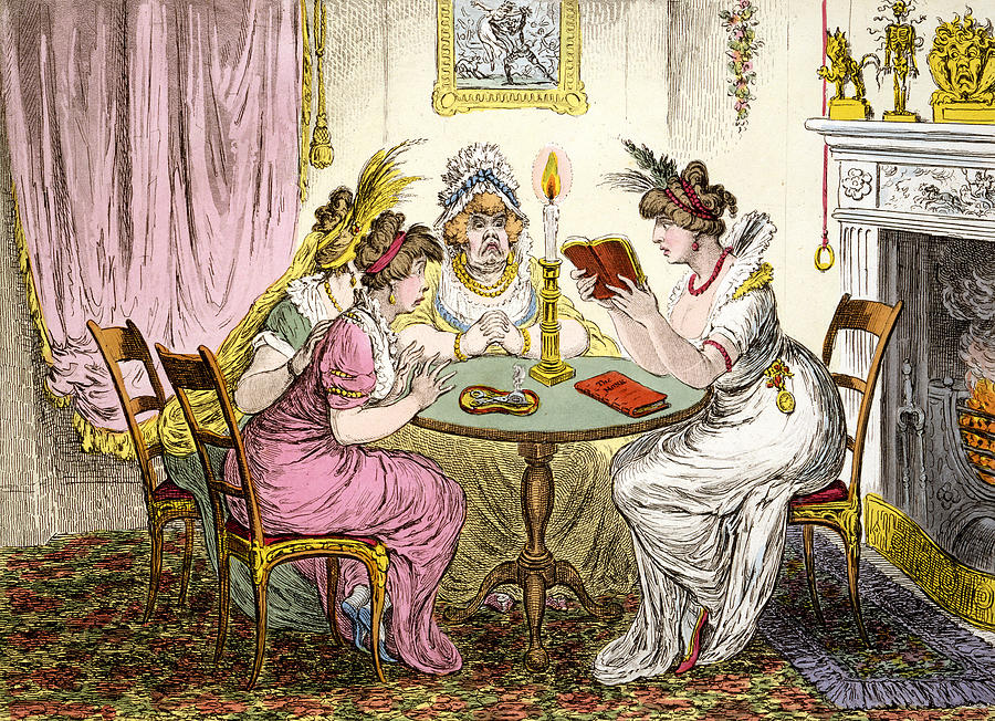 Satire Drawing - Tales Of Wonder  by James Gillray