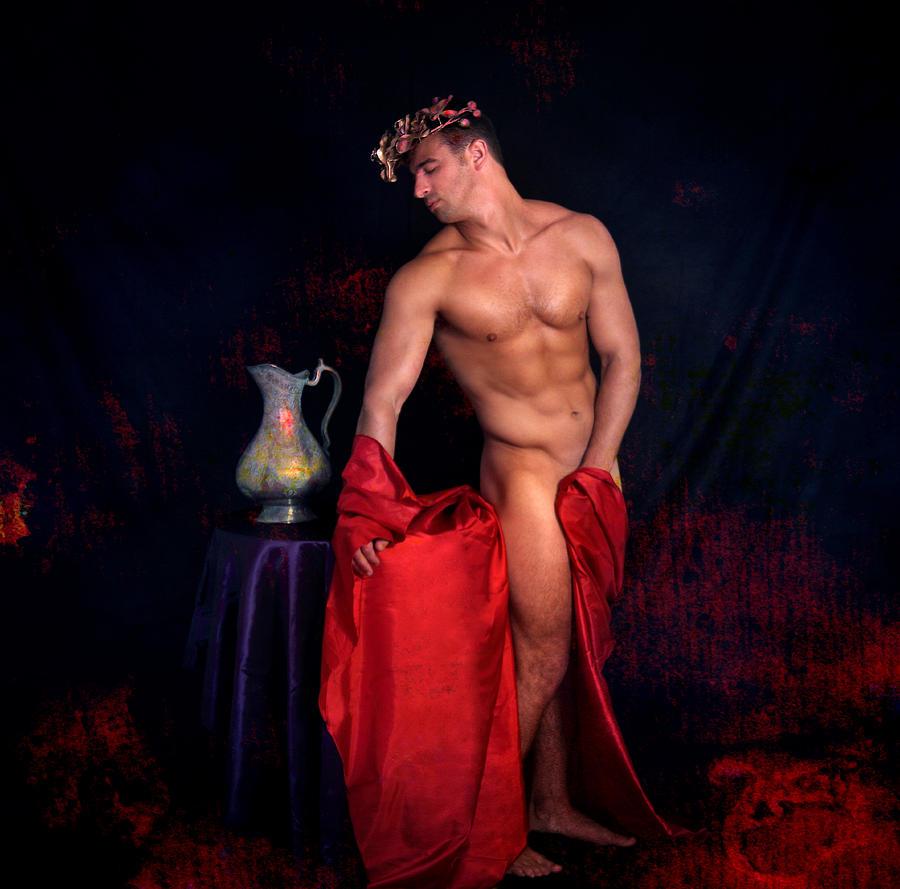 Male Nude Digital Art - Talk About It by Mark Ashkenazi