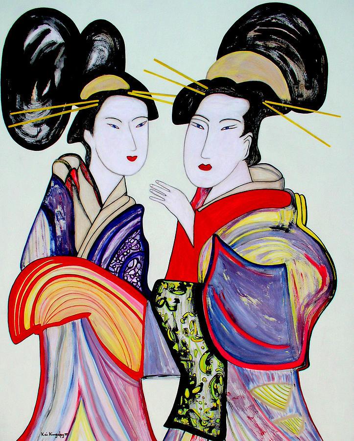 Dance Painting - Talking by Kai Kingsley III