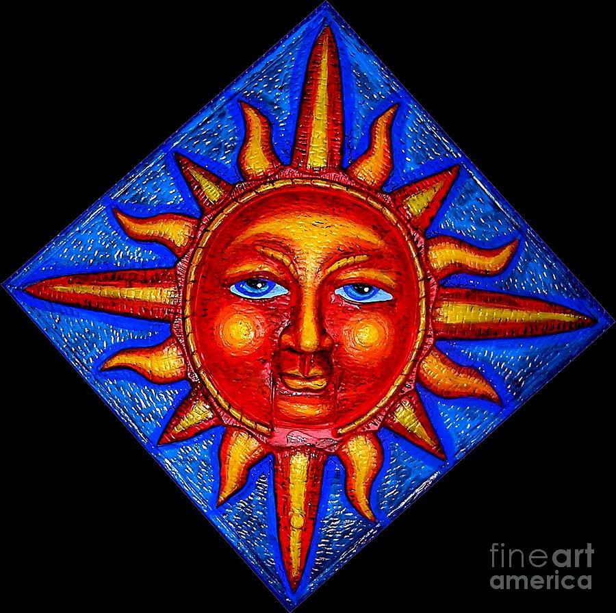 Sun Painting - Talking Sun by Genevieve Esson