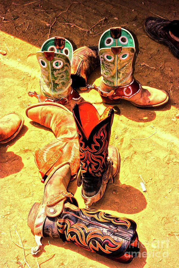 Cowboy Boots Photograph - Tall Boots by Gus McCrea
