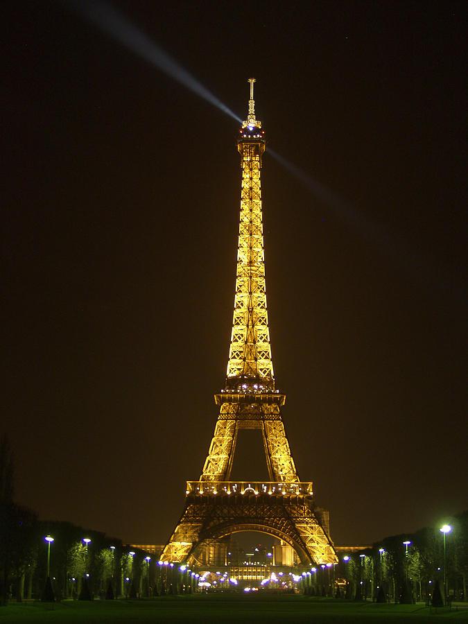 Eiffel Photograph - Tall Eiffel Tower by Mark Currier