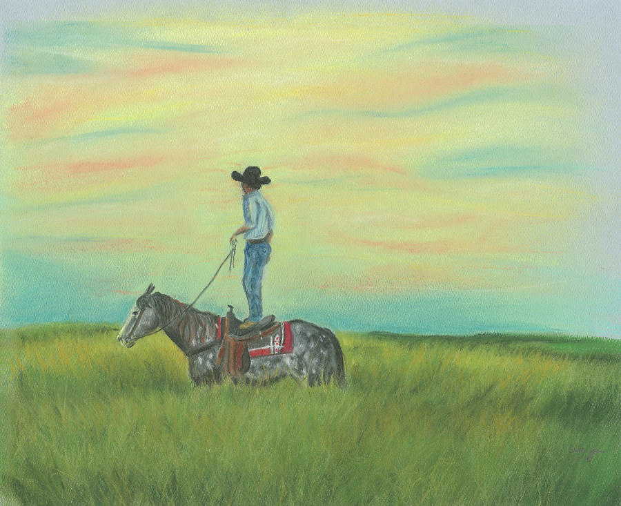 Tall in the Saddle by Sheila Johns