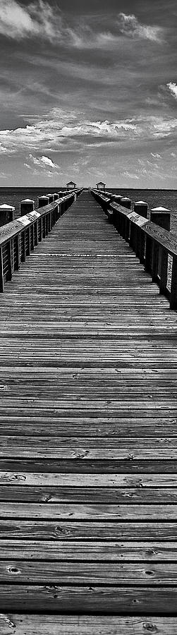 Mississippi Photograph - Tall Pier by Gulf Island Photography and Images