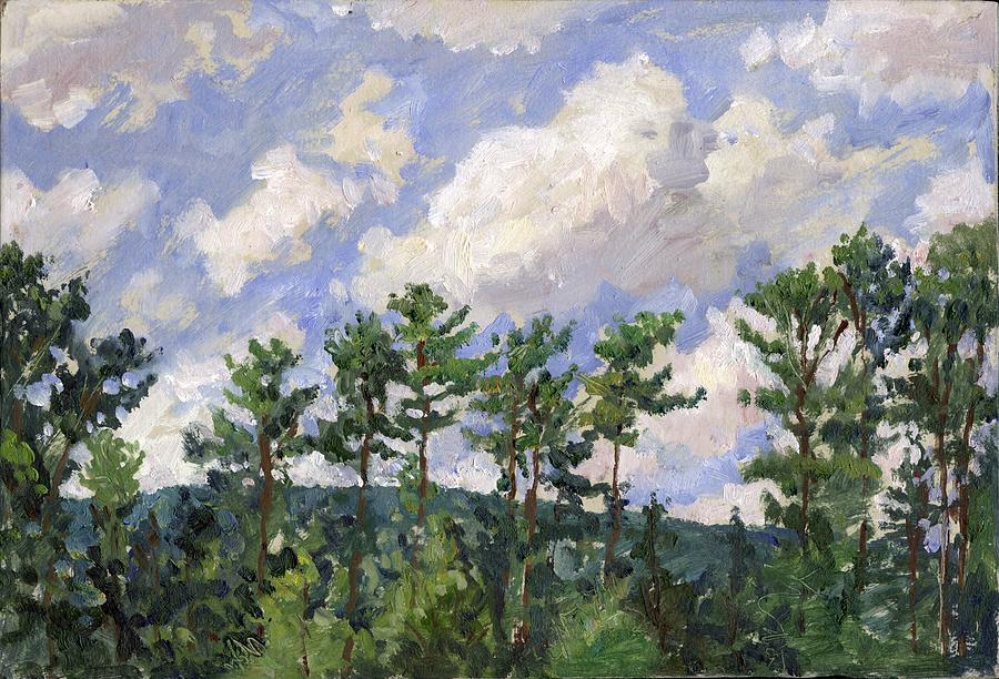 Tall Pines at Tanglewood by Thor Wickstrom