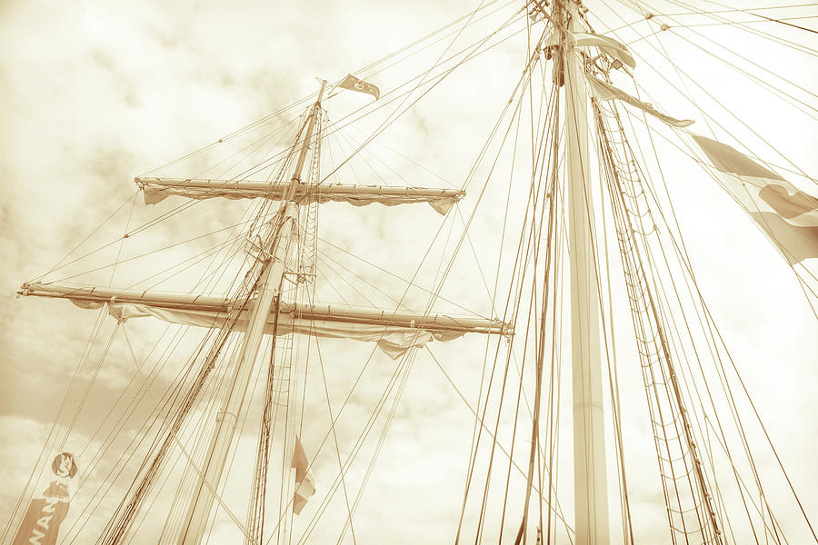 Tall Ship - 1 by Will Bailey