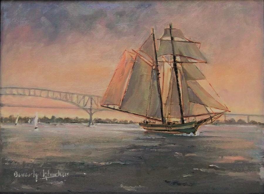 Tall Ship 3 by Beverly Klucher
