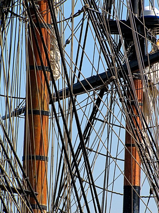 Tall Ship Photograph - Tall Ship Series 11 by Scott Hovind