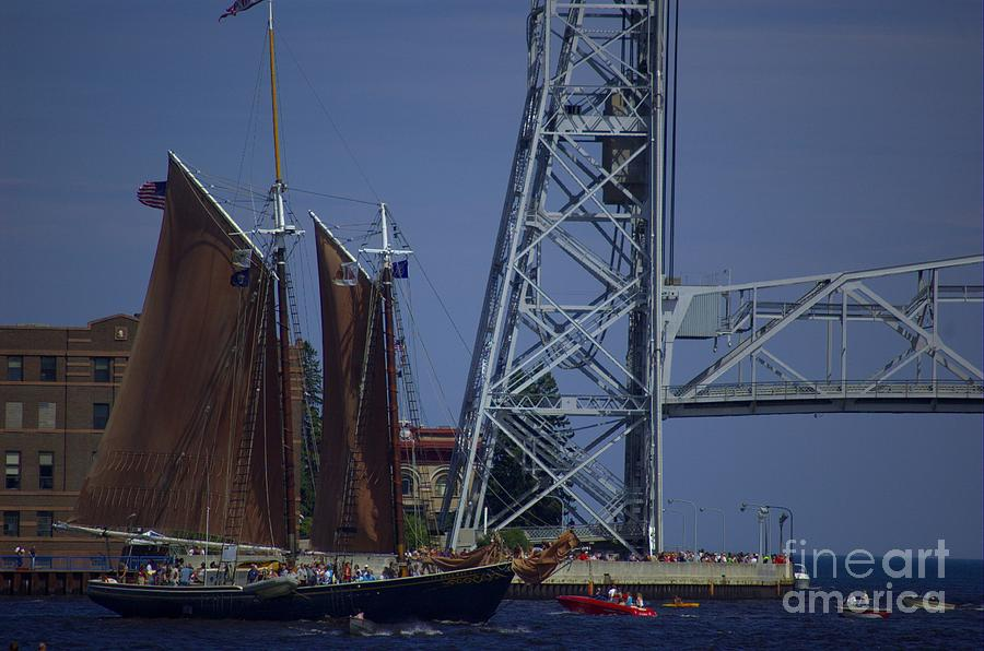Tall Photograph - Tall Ships by The Stone Age