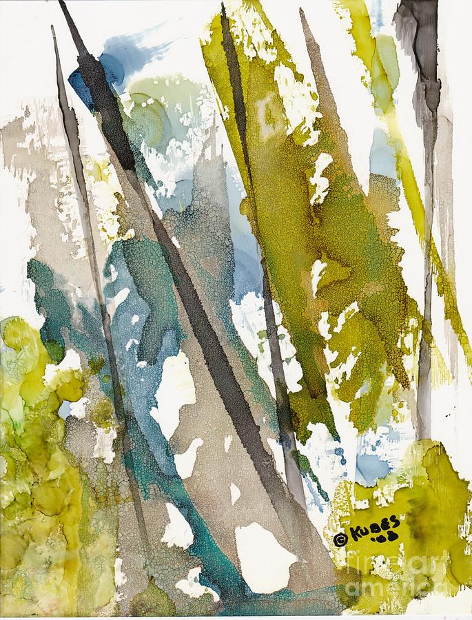 Forest Painting - Tall Timber by Susan Kubes