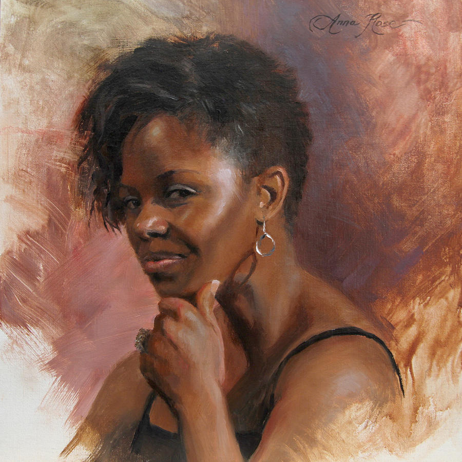 African American Painting - Talleys Secret by Anna Rose Bain
