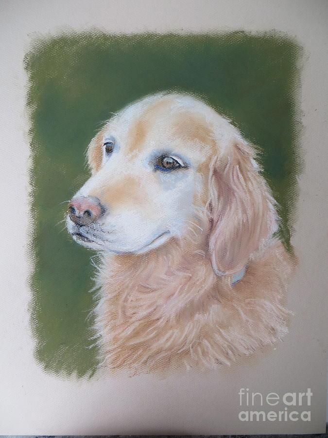 Dog Painting - Tally by Karol Wyckoff