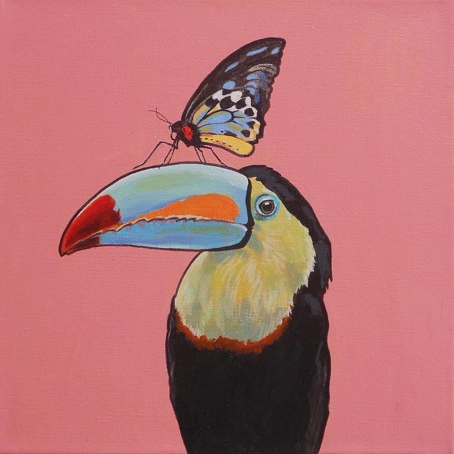 Talula the Toucan by Sharon Cromwell