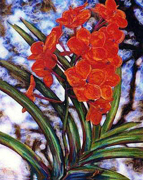 Tamboo Orchids by Banning Lary