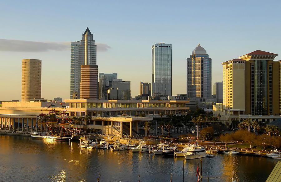 City Photograph - Tampa Bay And Gasparilla by David Lee Thompson