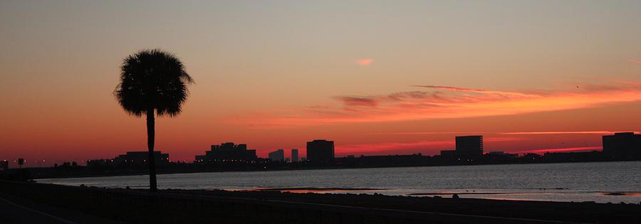 Sunrise Photograph - Tampa Bay Sunrise by Janet Pugh