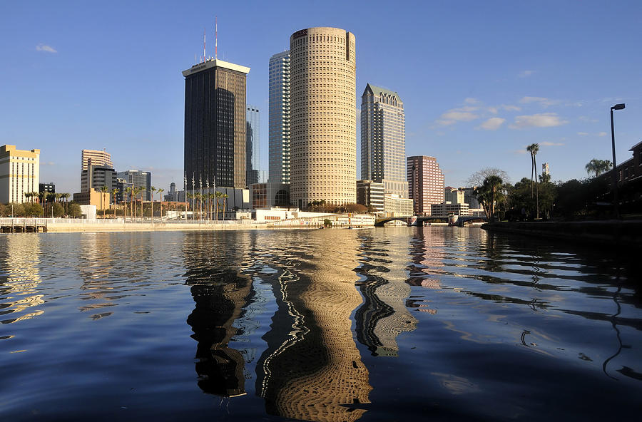 Landscape Photograph - Tampa Florida 2010 by David Lee Thompson