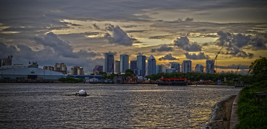 Tampa Photograph - Tampa Skyline by Chauncy Holmes