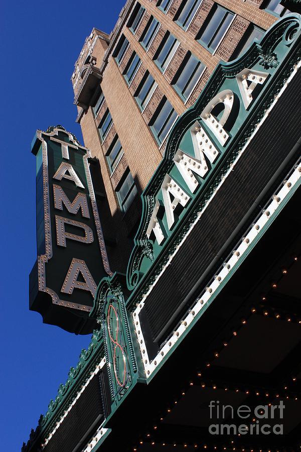 Tampa Theatre Photograph - Tampa Theatre  by Carol Groenen