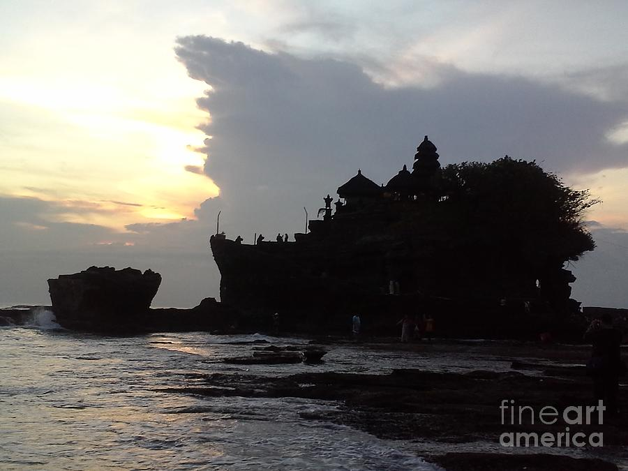 Tanah Lot Temple Bali Indonesia by Heather Kirk