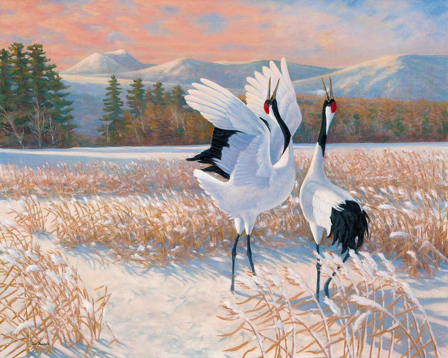 Tanchou Lovers Painting by Jon Janosik - photo#27