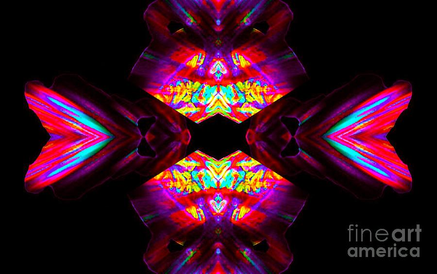 Abstract Digital Art - Tangent by Lorles Lifestyles