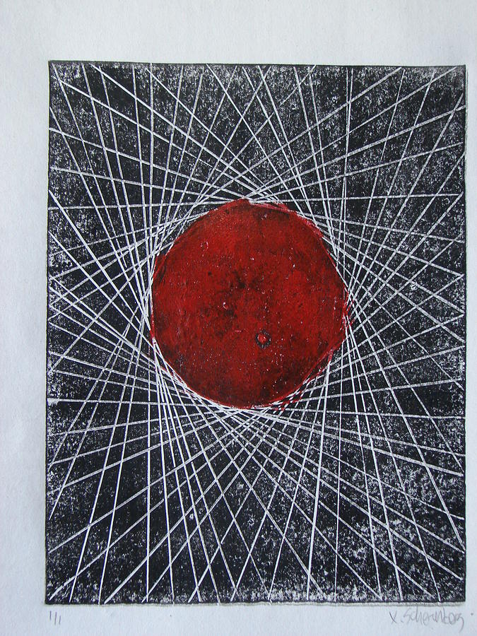 Tangentes 2 Painting by X Scherenberg