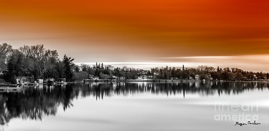 Tangerine Silk by Roger Carlsen
