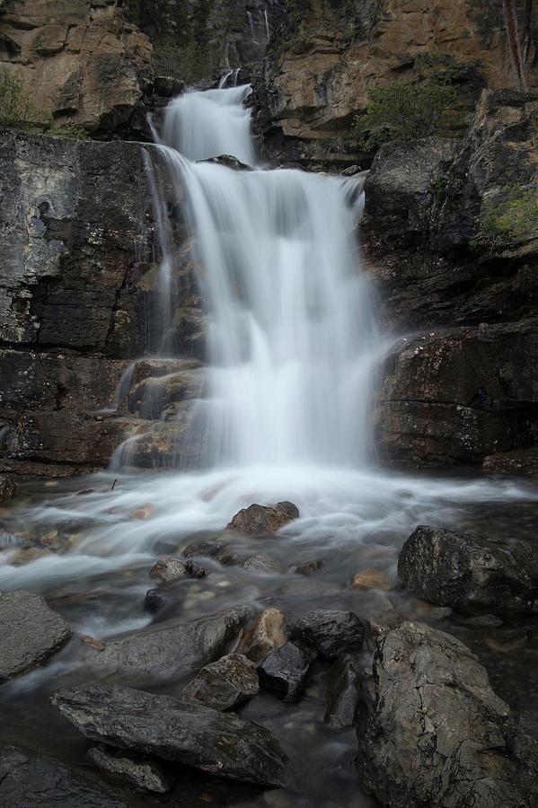 Alberta Photograph - Tangle Creek Falls, Alberta, Canada by David Stanley