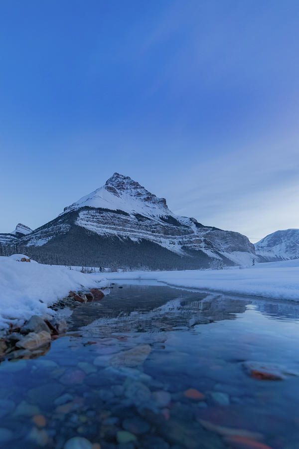 Tangle Peak Reflection Photograph