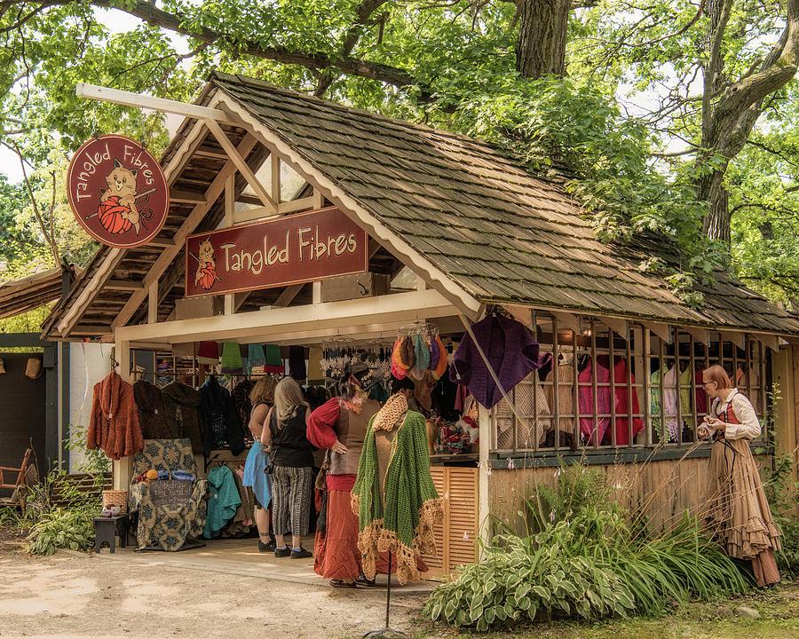 Festivals Photograph - Tangled Fibres by Jim Bembinster