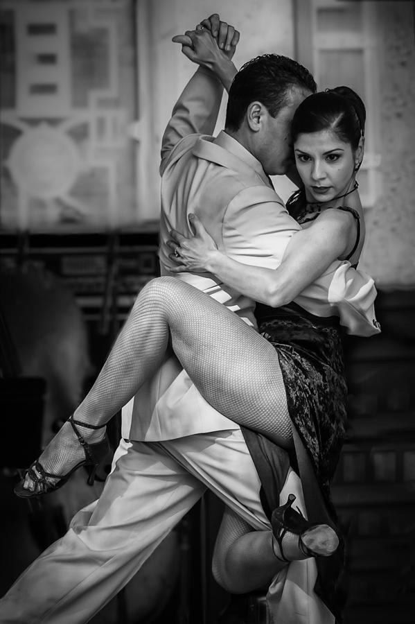 Tangled In Tango Photograph