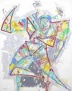 Tango 1 Painting by Helmut  Preiss