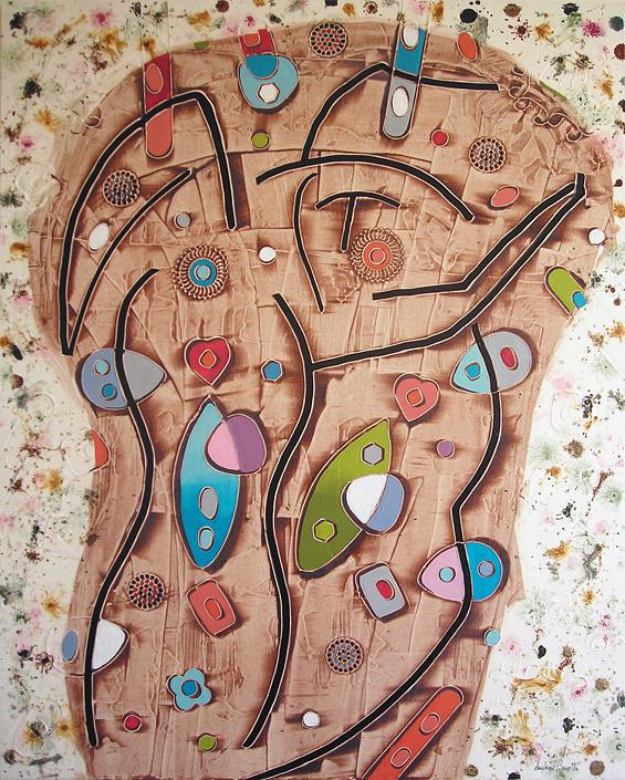 Andrea Benetti Painting - Tango by Andrea Benetti