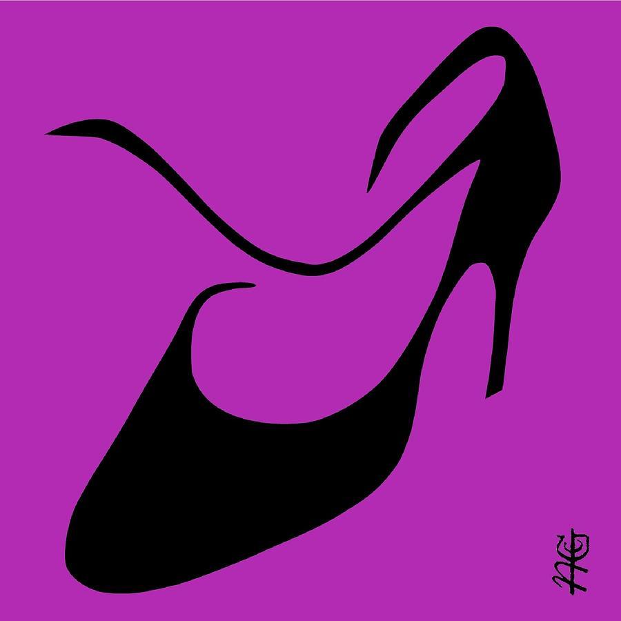 Argentine Digital Art - Tango Argentino Woman Shoe - Milonga Buenos Aires Argentina by Arte Venezia