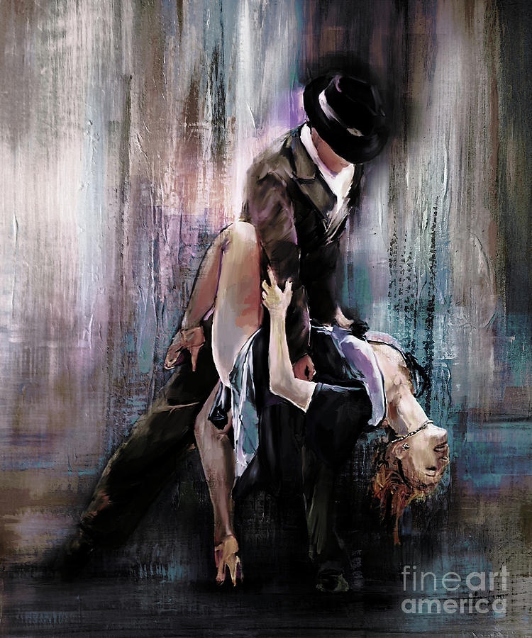Tango Couple 05 Painting By Gull G