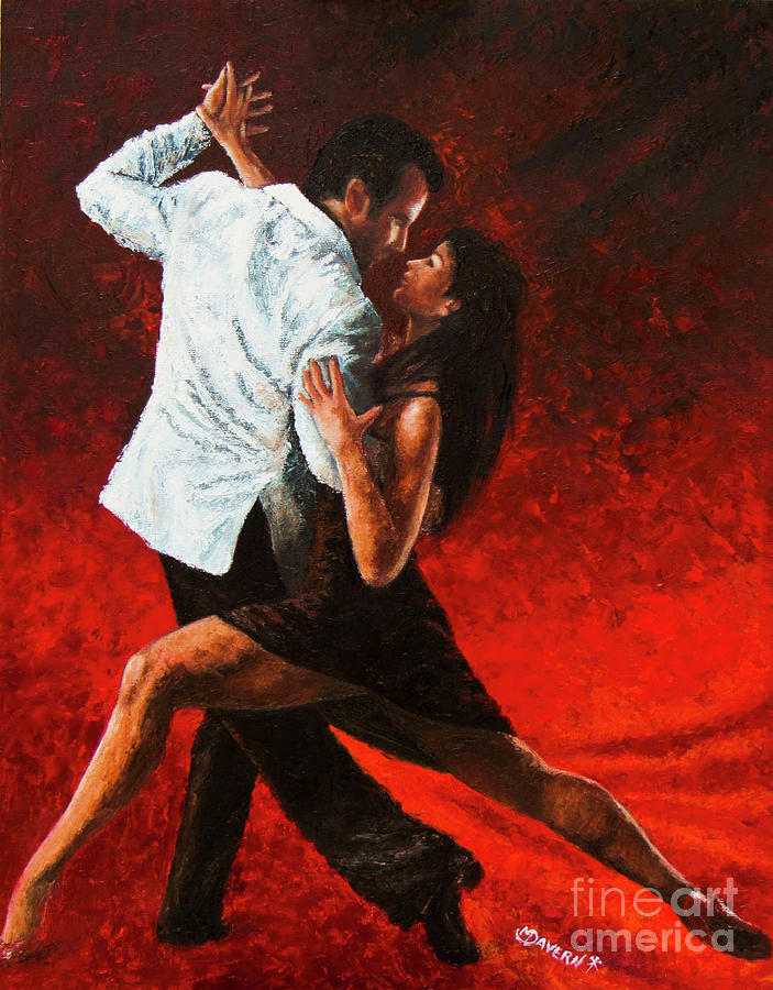 Tango in Red by Mark Davern