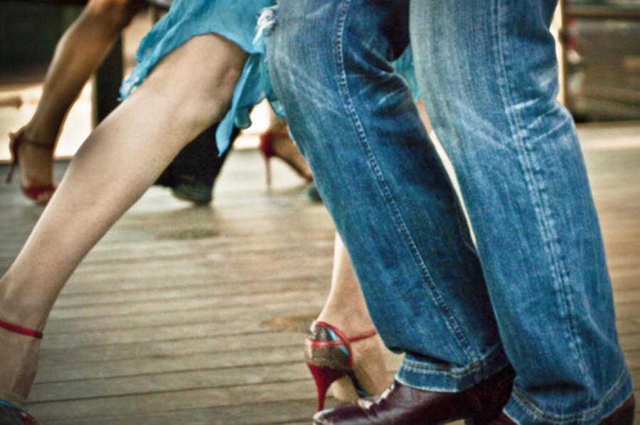 Tango in Santa Fe, New Mexico 1 by Catherine Sobredo