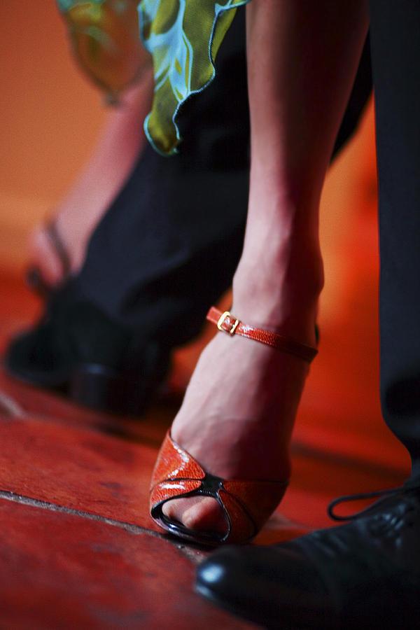 Tango Photograph - Tango Toes by Bob Coates