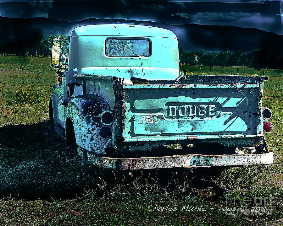 Taos Dodge by Charles Muhle