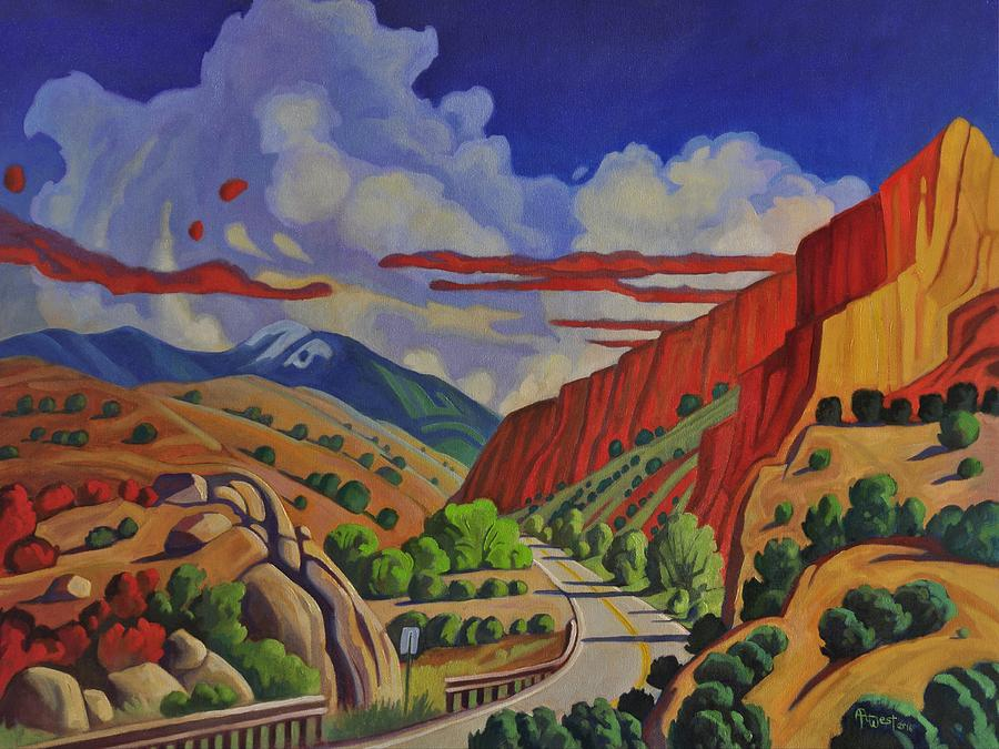Taos Gorge Journey by Art West
