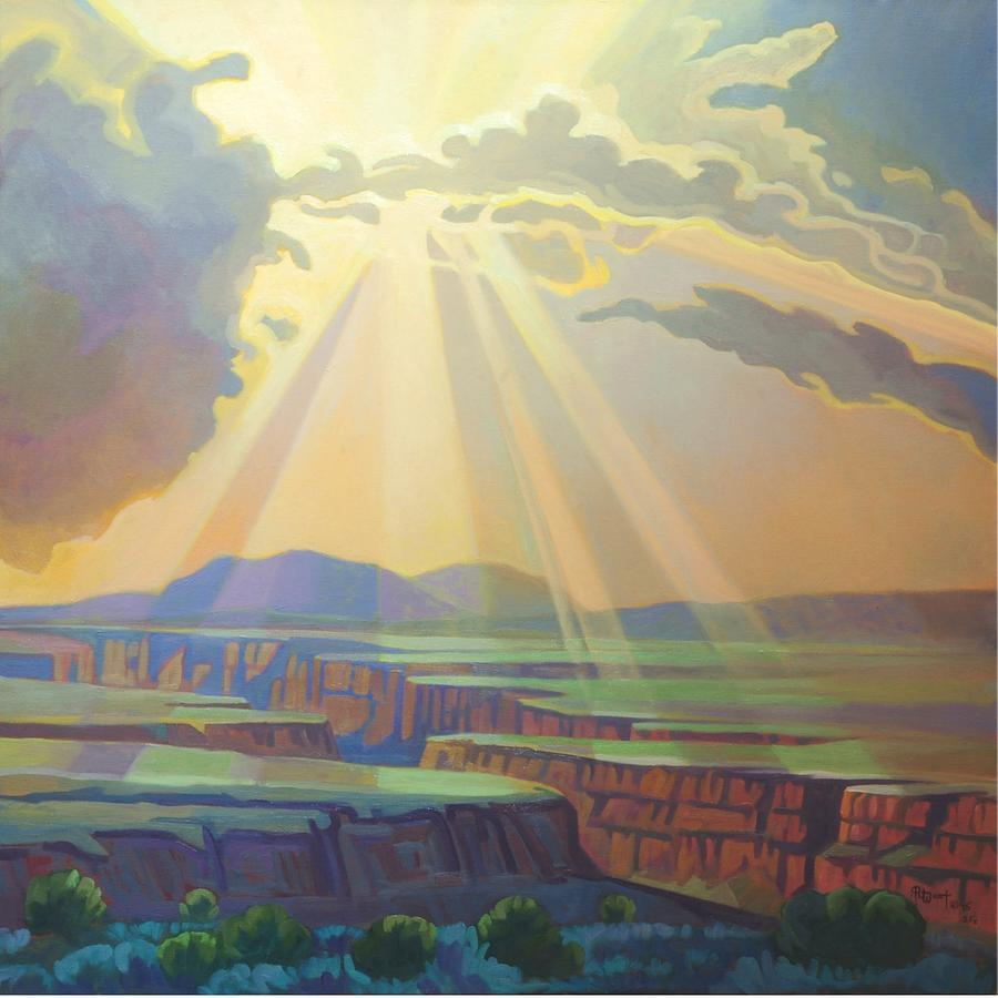 Taos Gorge Light by Art West
