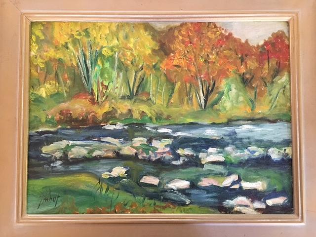 Landscape Painting - Taos Landscape by Joseph Imhoff