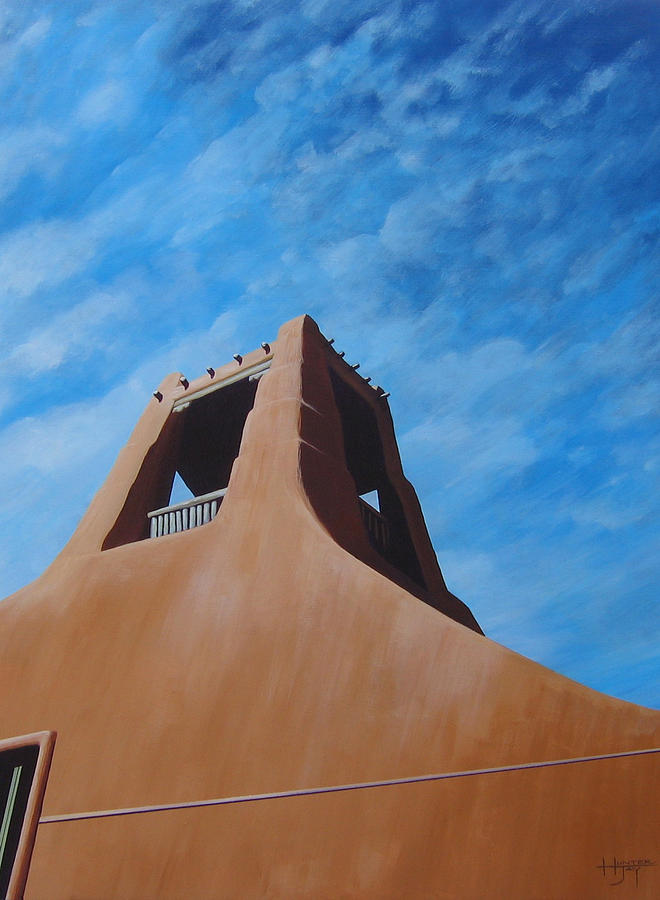 Taos Painting - Taos Memory by Hunter Jay