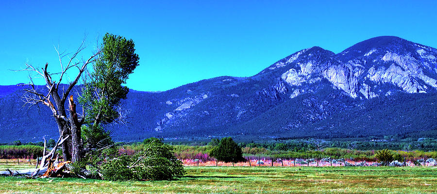 Taos Mountains Photograph