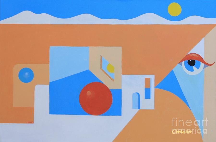 Southwest Perspective #1 by Jean Clarke