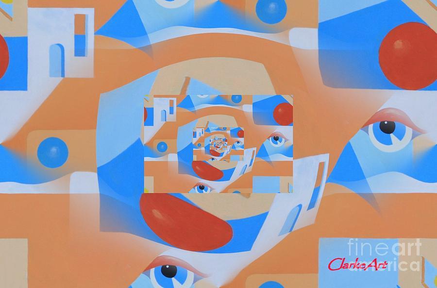 Southwest Perspective #2 by Jean Clarke